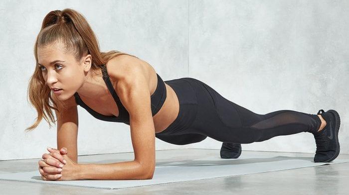 3-Minutters daglig plankeudfordring | Få stærke mavemuskler på 4 uger med 5 plankeøvelser