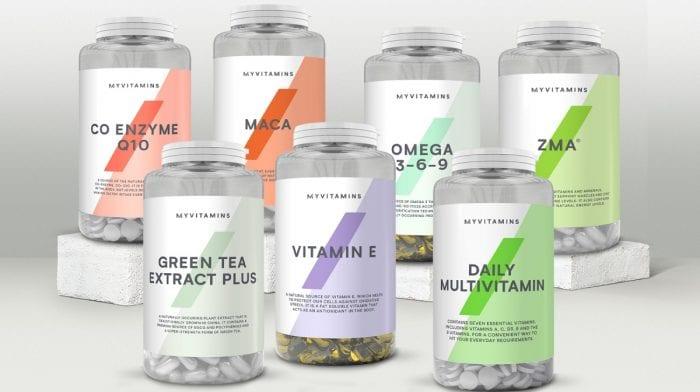Hold dig selv i topform med vitaminer | Oplev vores Myvitamins udvalg