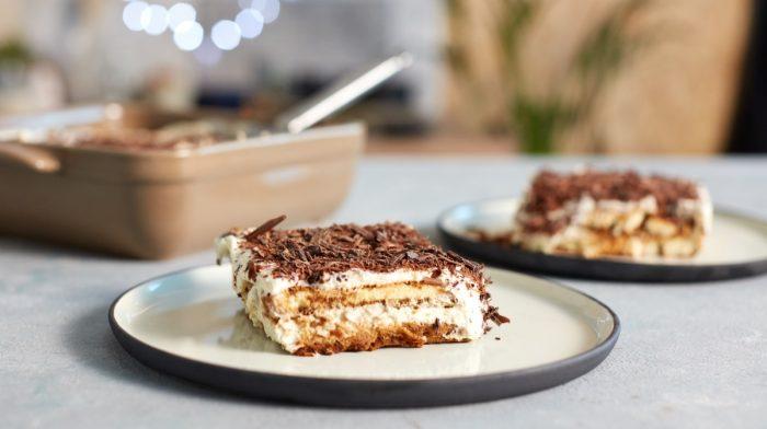 Italiensk tiramisu med protein chokolade