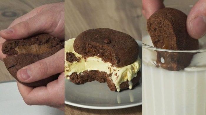 Filled protein cookie på 4 måder | Next level protein cookie