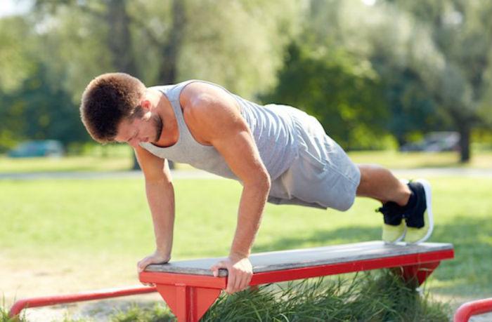 Упражнение калистеники