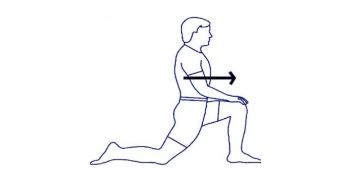 растяжка подвздошно-поясничной мышцы