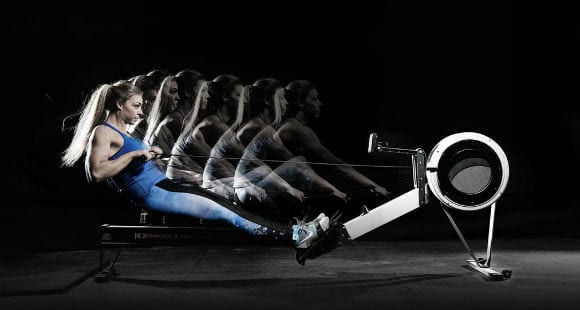 Гребной тренажер: польза и как на нем тренироваться?