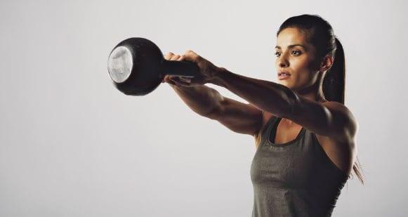 Махи гирей - упражнение для развития силы
