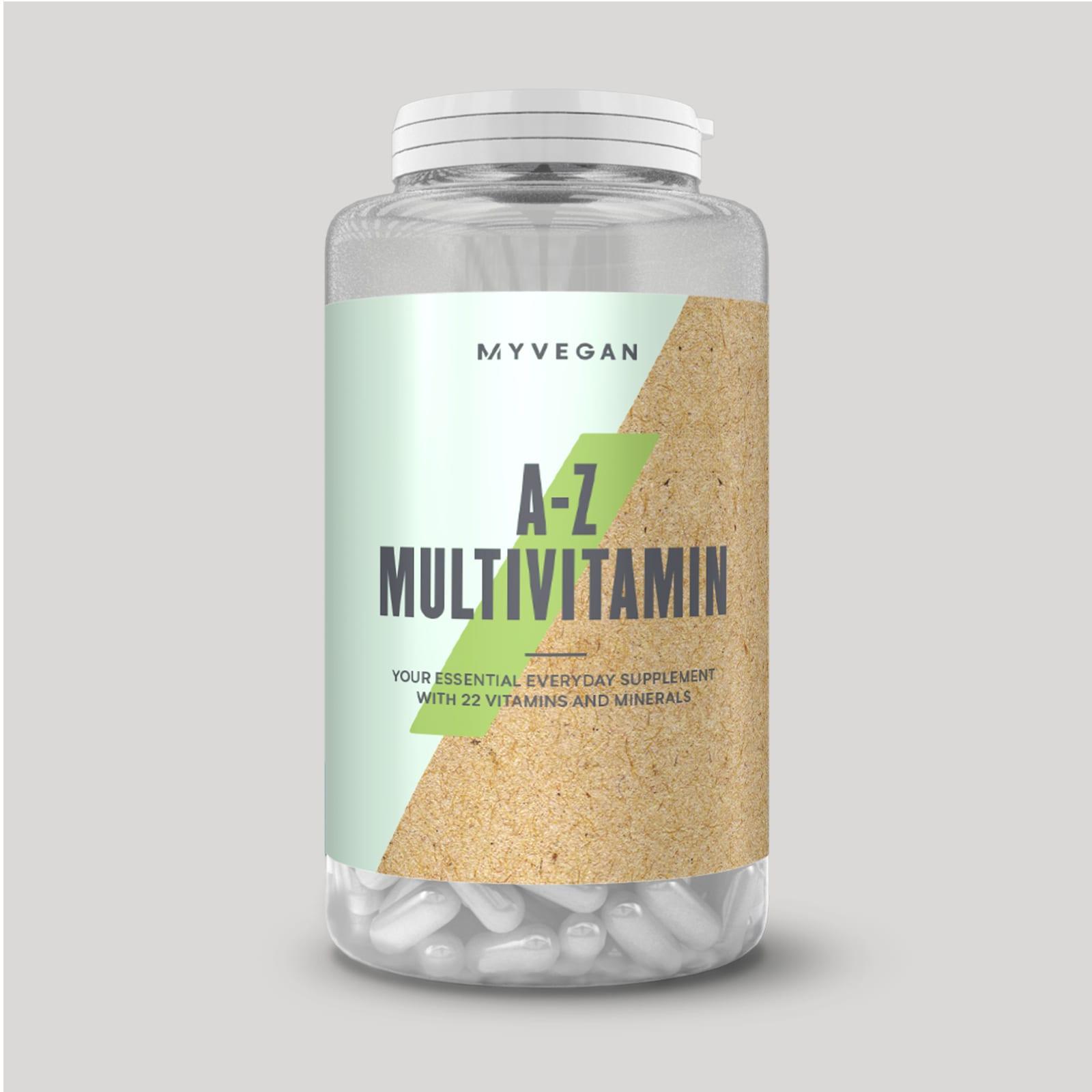 Веганские мультивитамины A-Z
