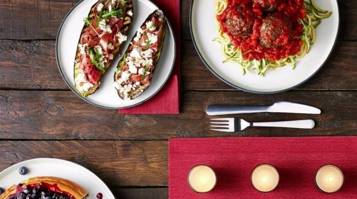 Полезное меню из трех блюд на двоих