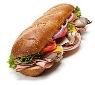 Turkey Wholewheat Sandwich