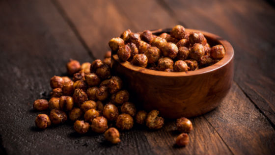 Healthy Snacks | BBQ Chickpeas
