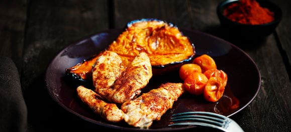 Healthy Meals | Smoked Chicken and Butternut Squash