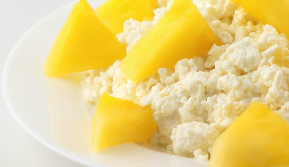 Cottage Cheese pineapple