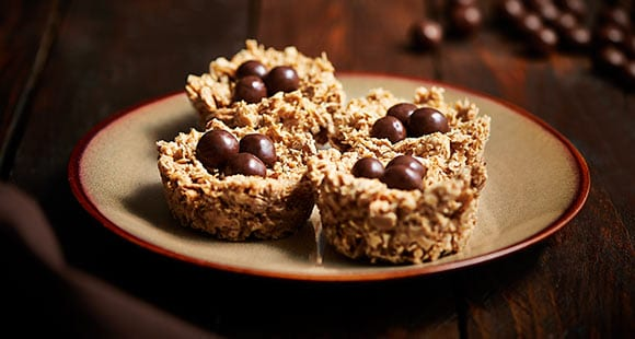 Clean Peanut & Coconut Egg Nests