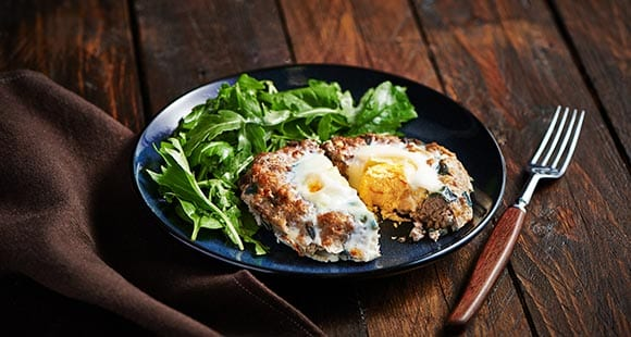 Healthy Burger Recipe | Turkey & Egg