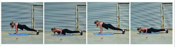 crossfit press up