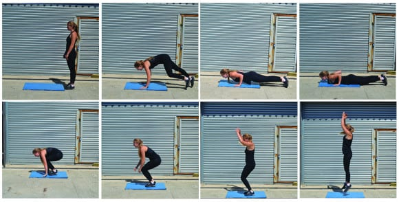 crossfit bodyweight burpee