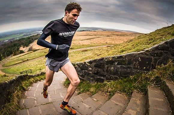 run uphill