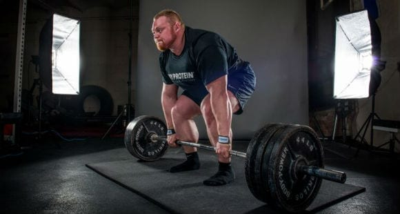 4 Barbell Deadlift Variations