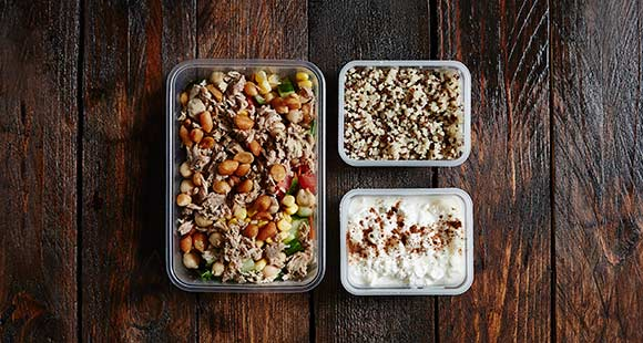 Feel Fuller For Longer | Balanced Meal Prep Idea