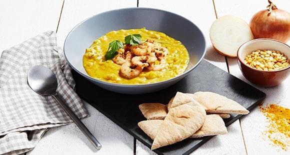 Warming Lentil Dahl Soup Recipe