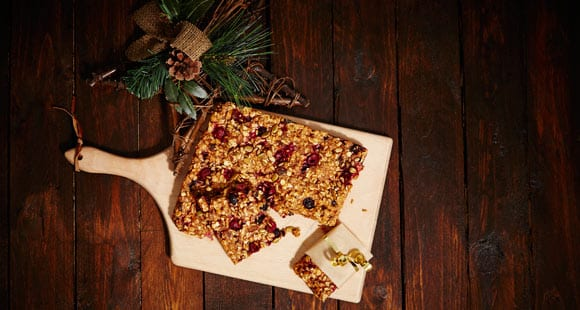 Baked Berry Oats | Christmas Morning Breakfast Idea