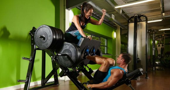 Weight Machines for Legs, Biceps & Triceps