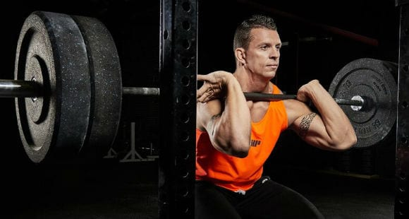 Improve Your Clean & Front Squat By Working On Front Rack Mobility