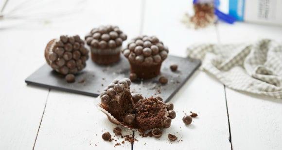 High-Protein Treat   Protein Ball Muffins Recipe