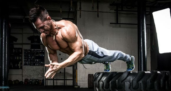 Train Your Upper Body Like This American Stuntman | Work Out From Home