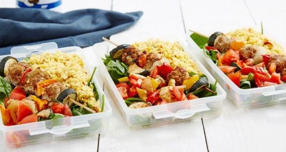 Meal Prep Idea | Meat Ball Kebab Recipe
