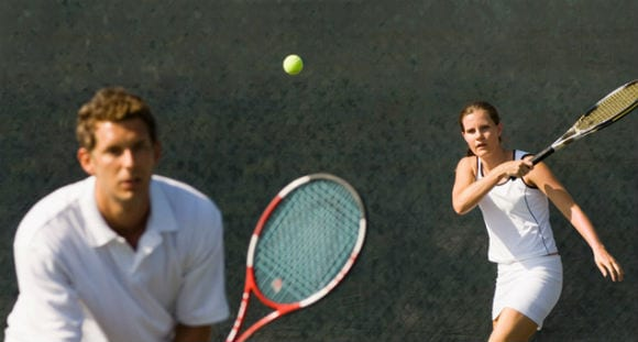 Team Work Makes The Dream Work | A Strategy To Become A Better Tennis Doubles Player