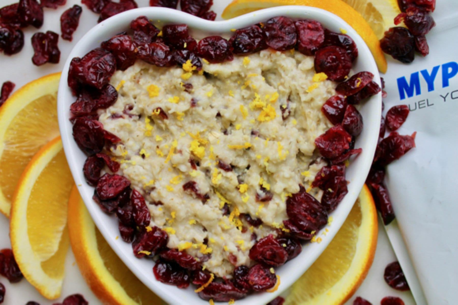 cranberry oats