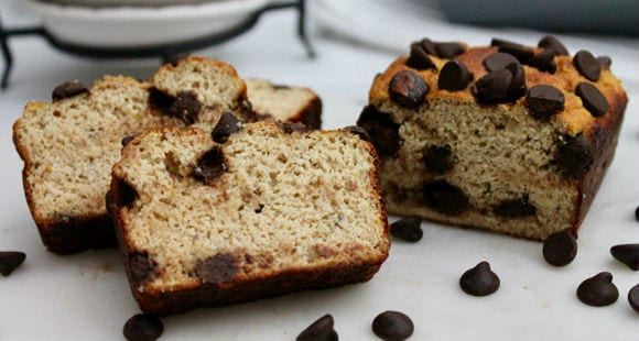 High Protein Cake Recipe | Chocolate Chip Banana Bread