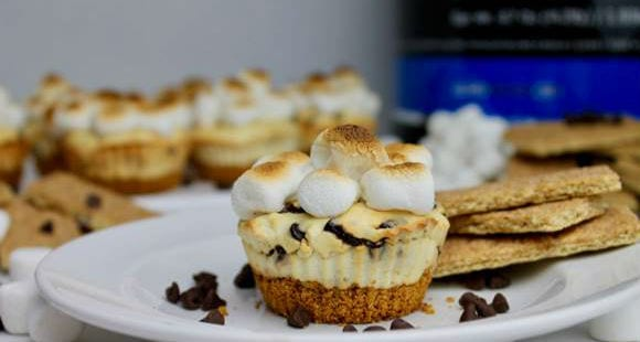 S'mores Cheesecake Cups Recipe