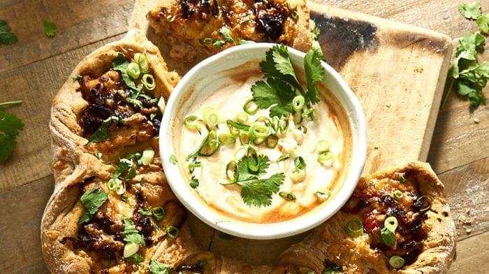 Chicken Fajita Pizza Ring | High Protein & Low Fat