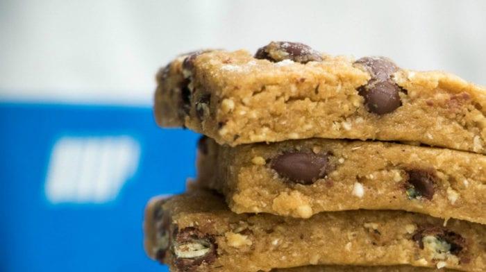 No Bake Cookie Dough Protein Bites