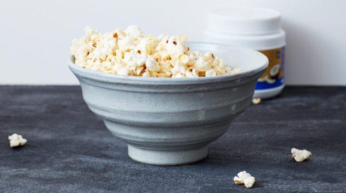 Super Simple Sugar-Free Popcorn