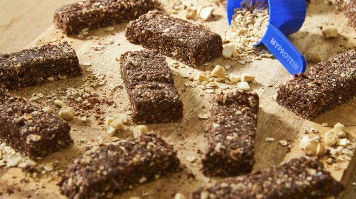 Crunchy Cacao Energy Bars