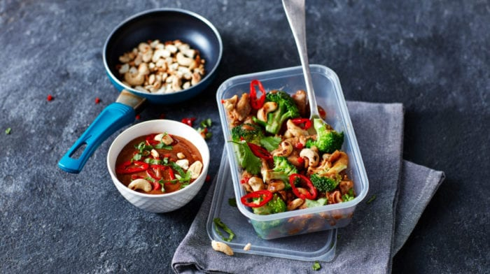 Sheet Pan Peanut Butter Chicken | 4-Day Meal Prep Recipe