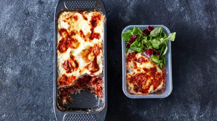 Loaf Pan Lasagna   3-Day Low Carb Meal Prep