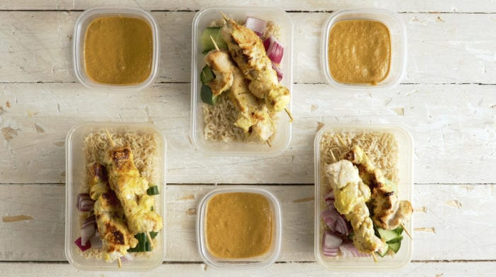 Quick Satay Chicken Meal Prep | 3-Day Meal Prep Recipe