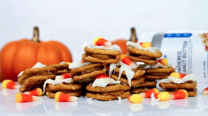 Halloween Pretzel Bites   Peanut Butter Recipes