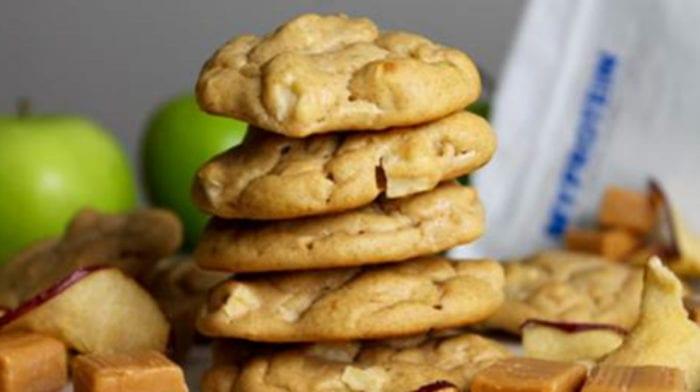 Healthy Pumpkin Cookies | Delicious Protein Pumpkin & Apple Cookies