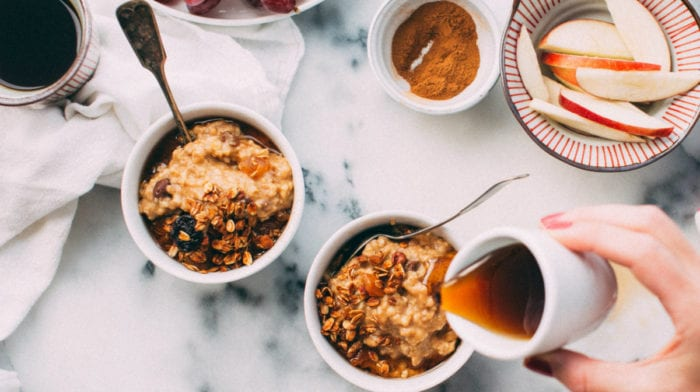 Proats Recipe | Salted Caramel Protein Oats