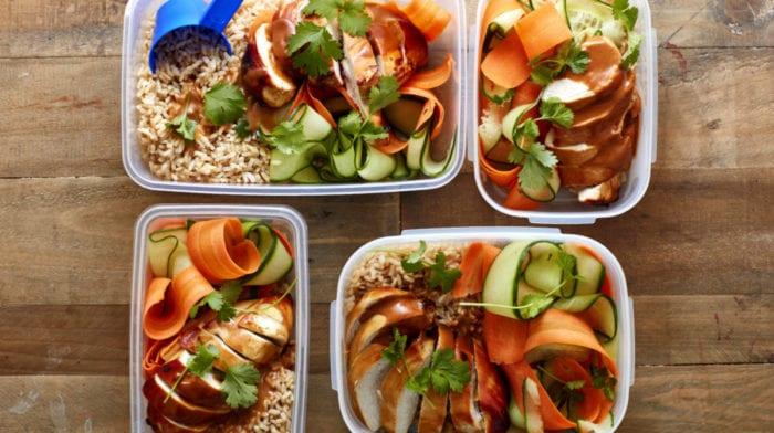 Easy Meal Prep Idea | Peanut Butter Chicken