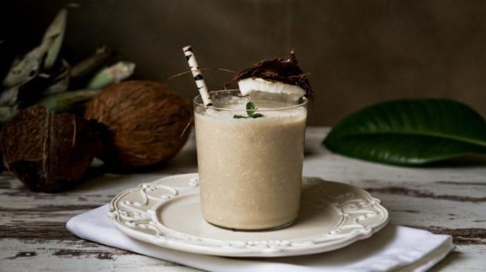 Dairy-Free Recipe | Vegan Piña Colada Protein Shake