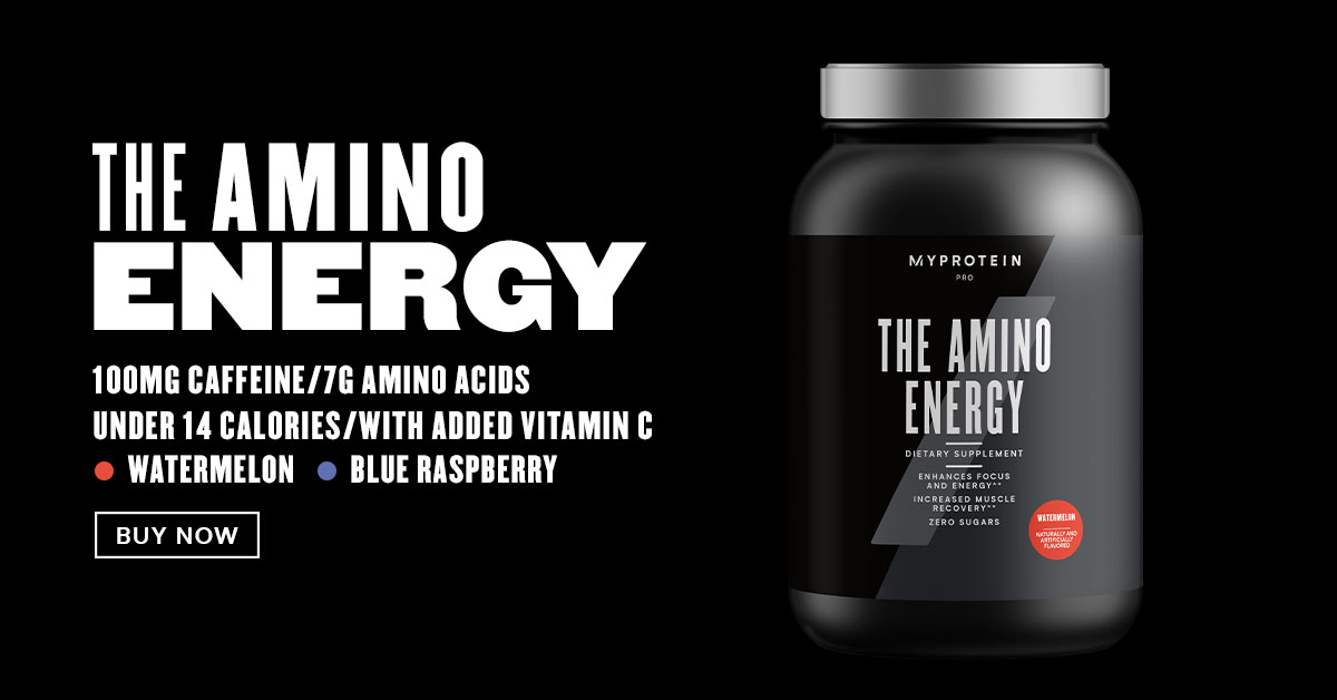 Introducing THE Amino Energy | Get More Energy And Focus With Each Scoop