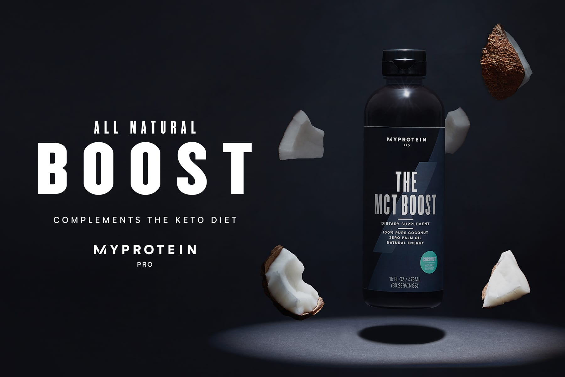 Introducing: THE MCT Boost — Your All-Natural Energy Boost