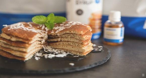 プロテインパンケーキ|ヘルシースイーツ