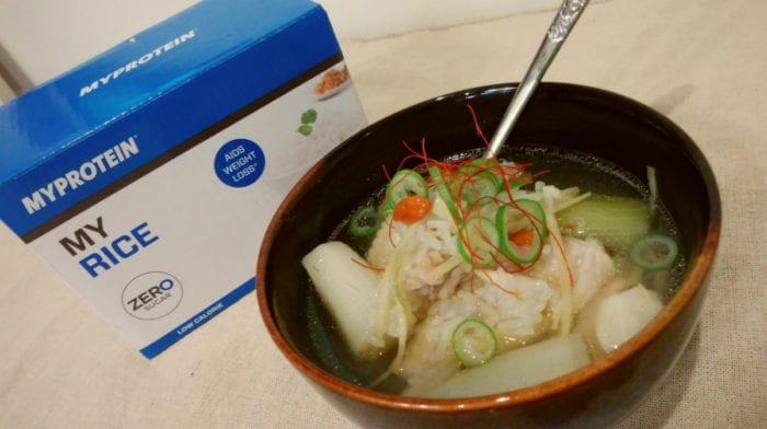 減量中にもぴったりのヘルシーレシピ!コラーゲンたっぷりサムゲタン風スープ