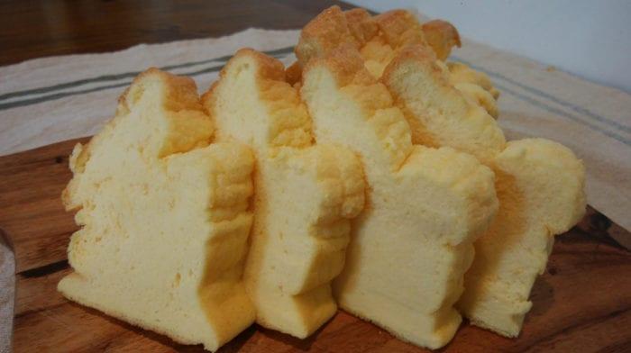 高たんぱく・低糖質・グルテンフリー! ふんわり卵だけパン♪
