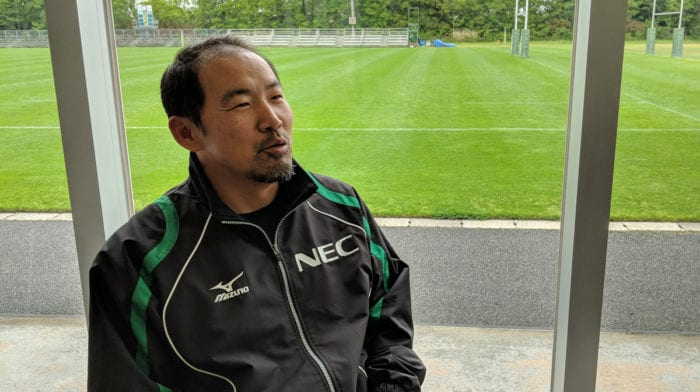 ラグビーチーム「NECグリーンロケッツ」 S&Cコーチ 南 暢洙氏インタビュー